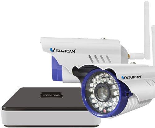 Vstarcam NVR C15 - уличный комплект видеонаблюдения (White) гаджет vstarcam wf820