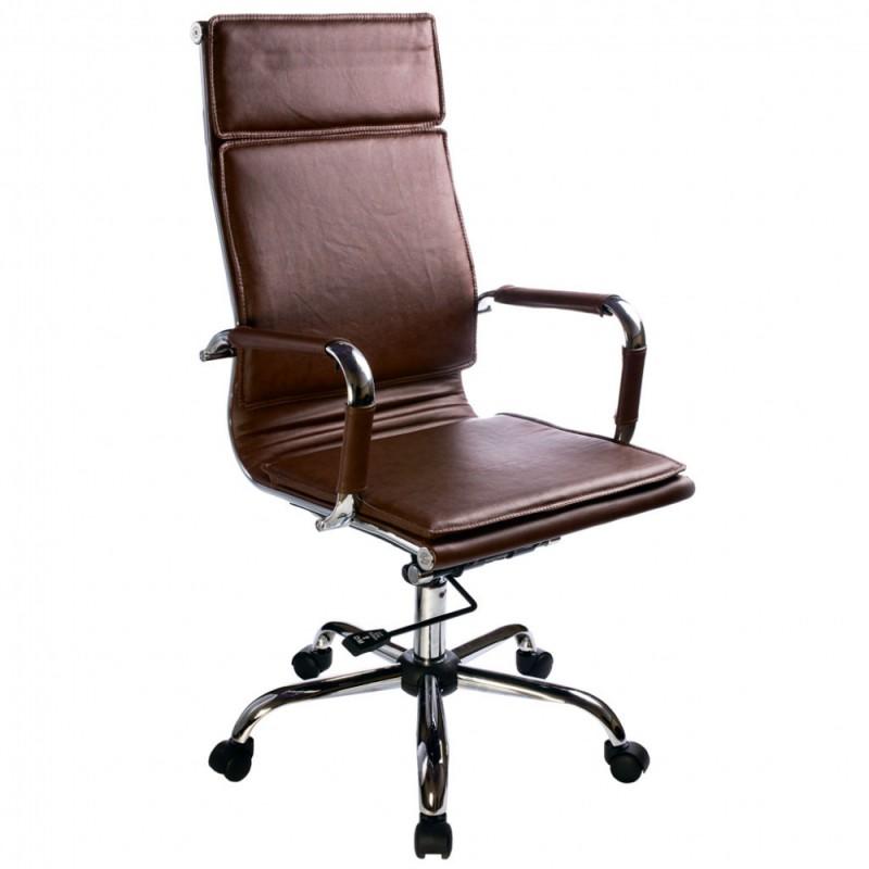 Бюрократ CH-993 - кресло руководителя (Brown) от iCover