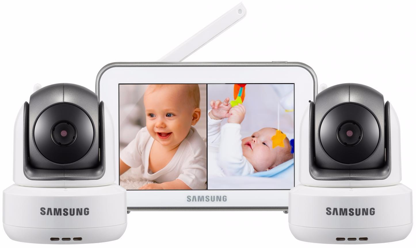 Samsung SEW-3043WPX2 - видеоняня на 2 камеры (White)