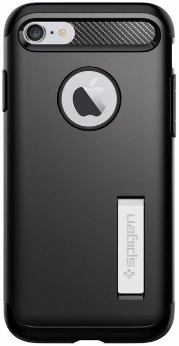 Spigen Slim Armor (042CS20647) - чехол для iPhone 7/8 (Black) spigen hybrid armor 042cs20840 чехол для iphone 7 black onix