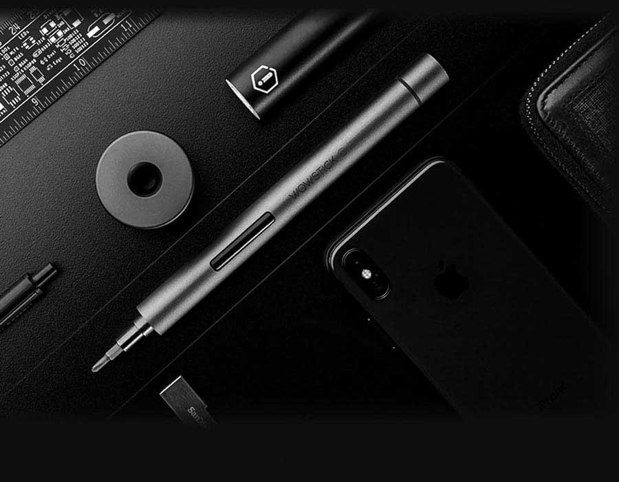 Электрическая отвертка Xiaomi Wowstick 1FS+ Upgrade version (Grey)