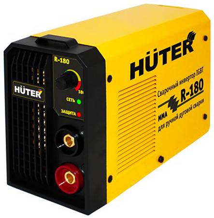 Huter R-180 - инверторный сварочный аппарат (Yellow)