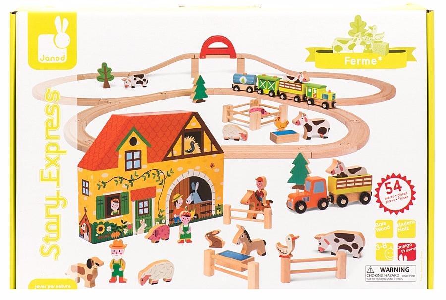 Janod Ферма (J08525) - игровой набор (Multicolor)