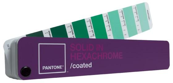 Купить Pantone Solid in Hexachrome Guide Coated (GGH200) - цветовой справочник