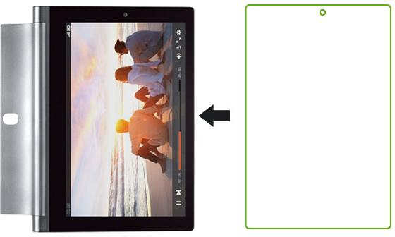 Ainy AC-L644 - защитная пленка для Lenovo Yoga Tablet II 8 (глянцевая) защитная пленка для экрана lenovo ideatab s5000 ainy глянцевая