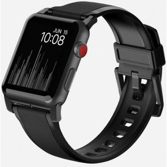 Ремешок Nomad Rugged Strap (NM1A41B000) для Apple Watch Series 2/3/4 42/44 mm (Black)