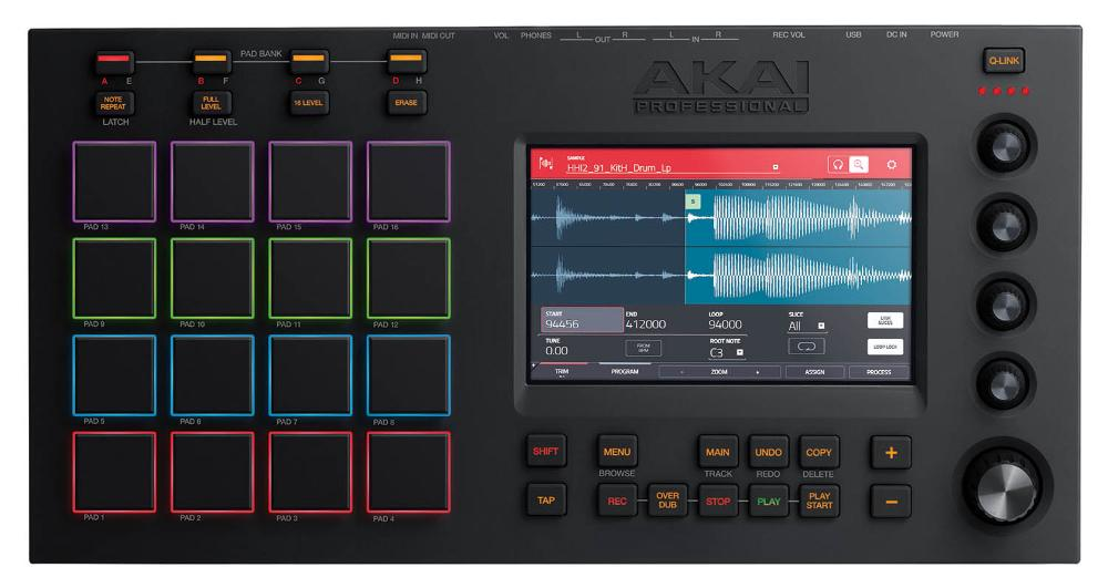 PRO midi контроллер akai professional mpc touch
