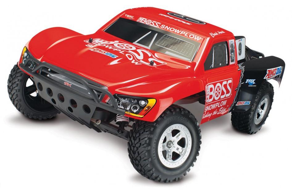 Traxxas Slash 4x4 VXL 1:10 - радиоуправляемый автомобиль (Red)