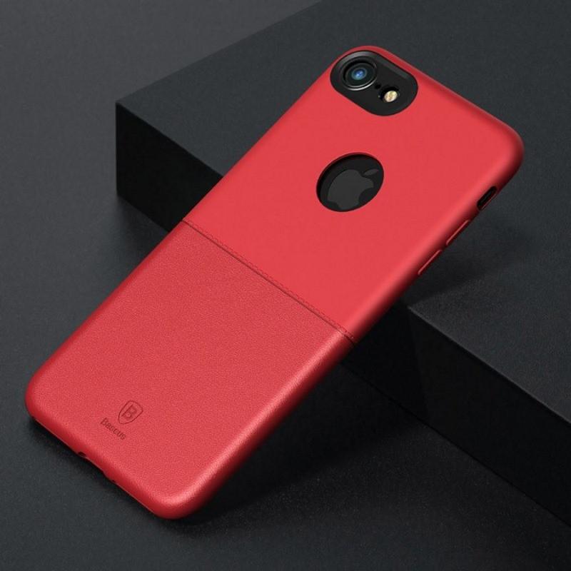 Чехол Baseus Half to Half (ARAPIPH7-ARY09) для iPhone 7/8 (Red)