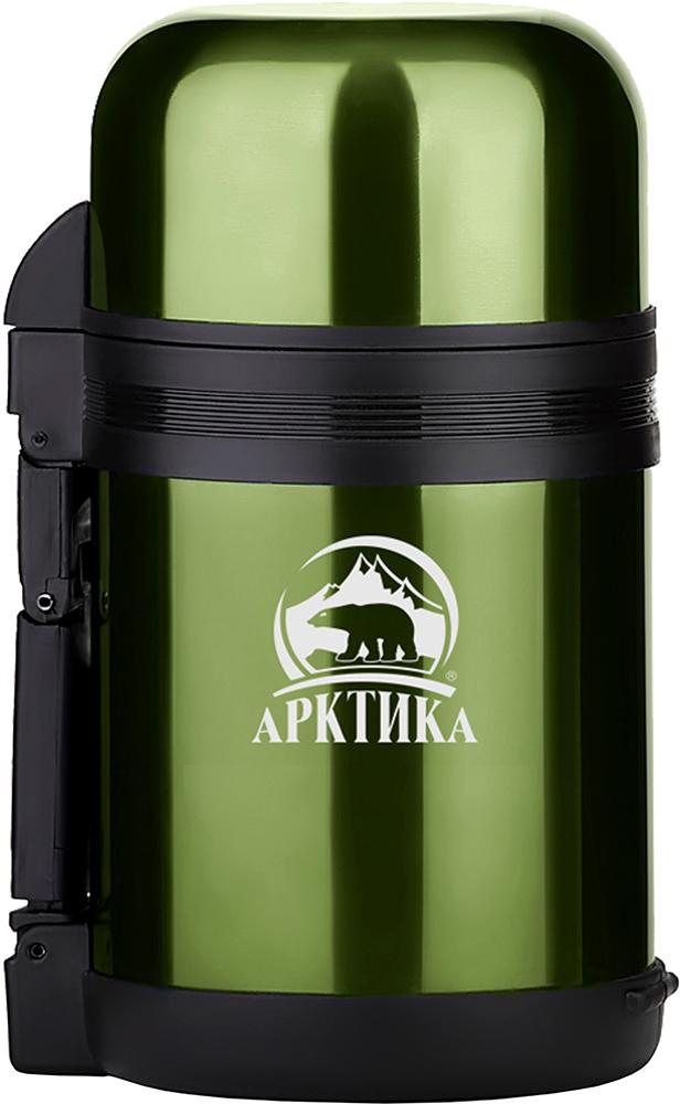 Арктика 202-1000 1 л - термос универсальный с широким горлом (Khaki)