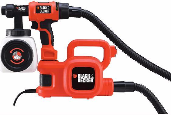 Black+Decker HVLP400 (490200) - краскораспылитель