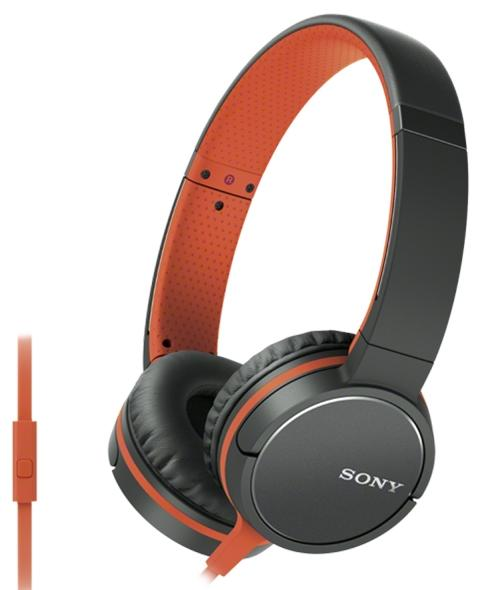 Sony MDR-ZX660AP ZX line - накладные наушники (Orange)
