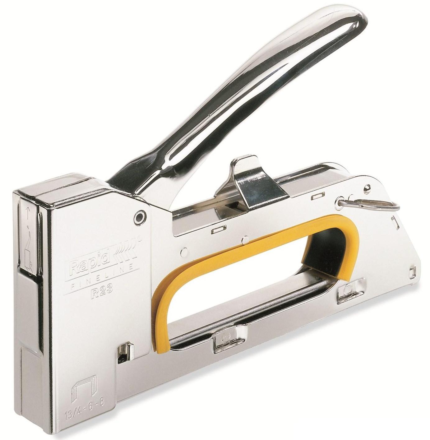 Подробнее о Rapid R153 WORKLINE RUS (5000061) - степлер ручной (Silver) молотковый степлер