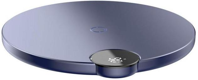 Беспроводное зарядное устройство Baseus LED Wireless Charger WXSX-03 (Blue)