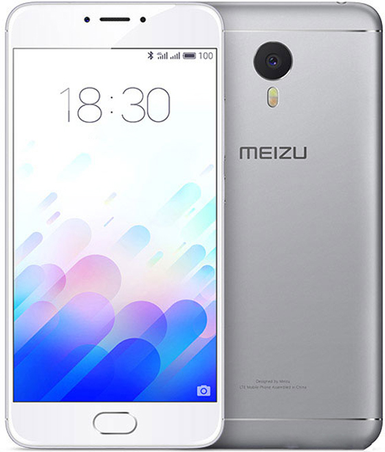 M3 смартфон meizu m5 note m621h 16gb серый