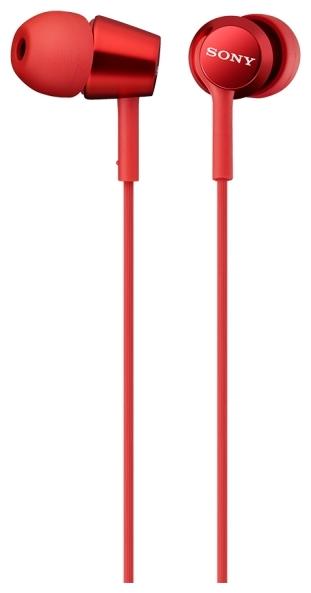 Sony MDR-EX150AP - наушники-гарнитура для смартфонов (Red)
