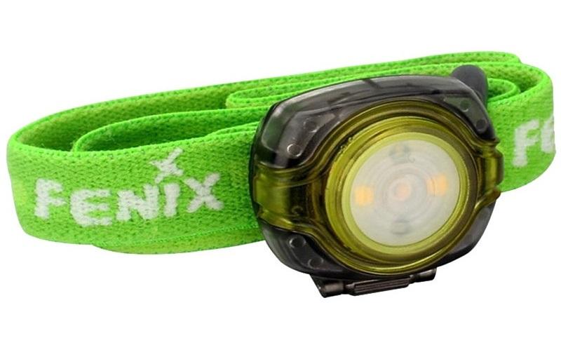 Fenix (HL05G) - налобный фонарь (Green)