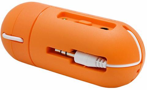 Мастер Кит PartyFON (MT6018) - портативный вибродинамик (Orange)