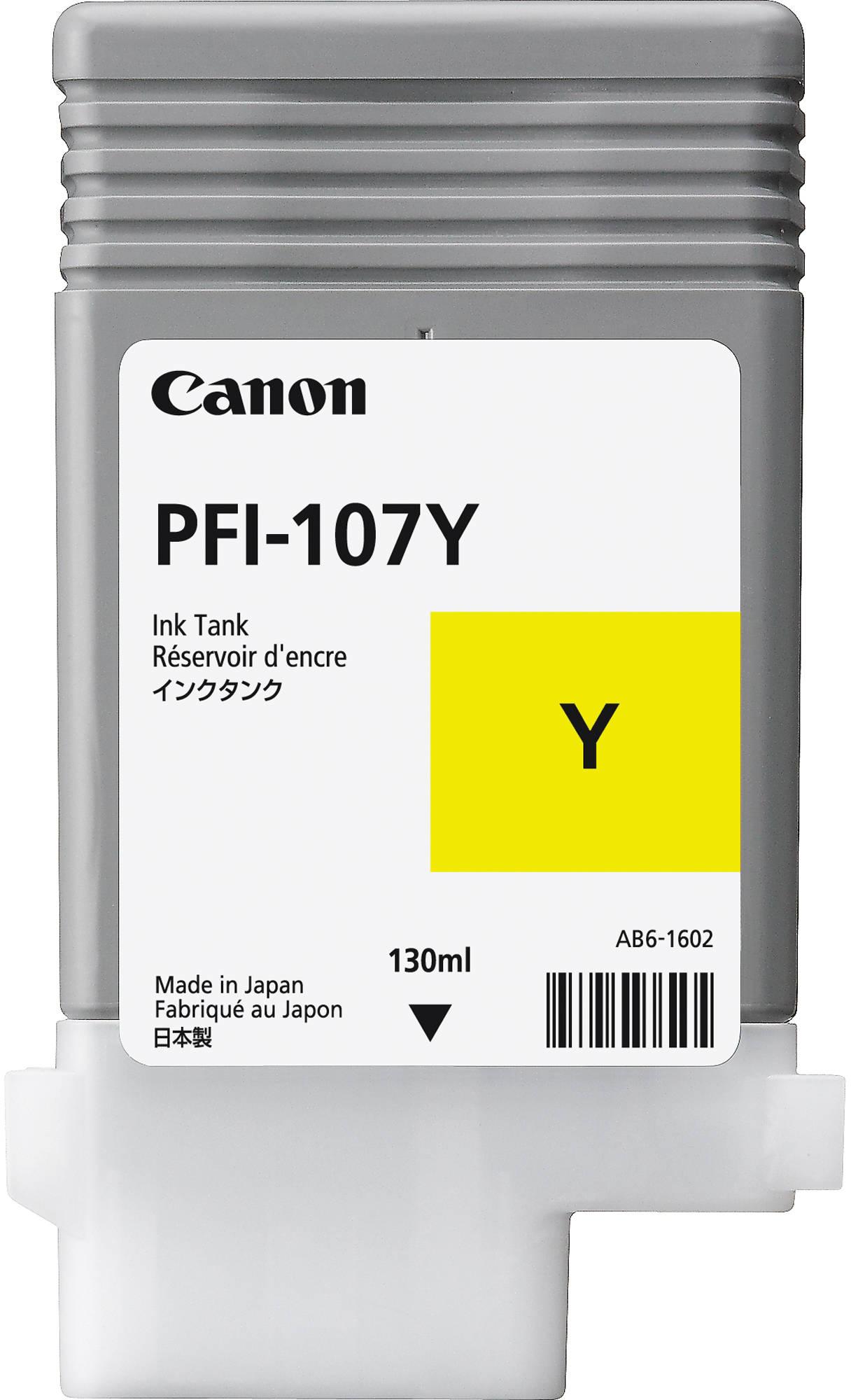 Canon PFI-107Y (6708B001) - картридж для принтеров Canon iPF680/685/780/785 (Yellow)