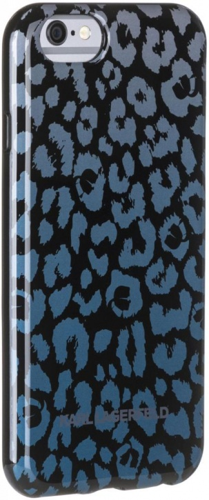 Karl Lagerfeld Camouflage (KLHCP6CAGR) - накладка для iPhone 6/6S (Grey) чехол накладка чехол накладка iphone 6 6s 4 7 lims sgp spigen стиль 1 580075