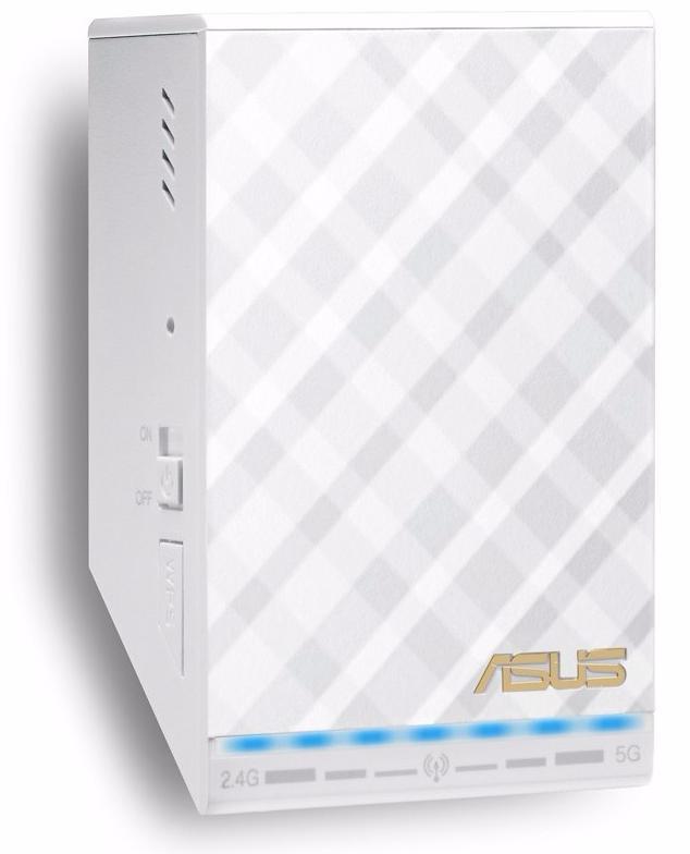 Asus AC750 (RP-AC52) - маршрутизатор двухдиапазонный (White)