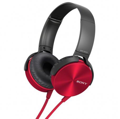 Sony MDR-XB450AP/R - накладные наушники (Red)