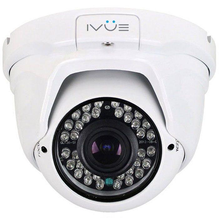 iVue iVue-HDC-OD20V2812-60 - внешняя купольная антивандальная AHD-камера (White)