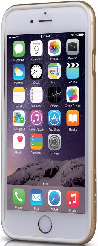 Бампер Itskins Heat (APH6-NHEAT-GOLD) для iPhone 6 (Gold)