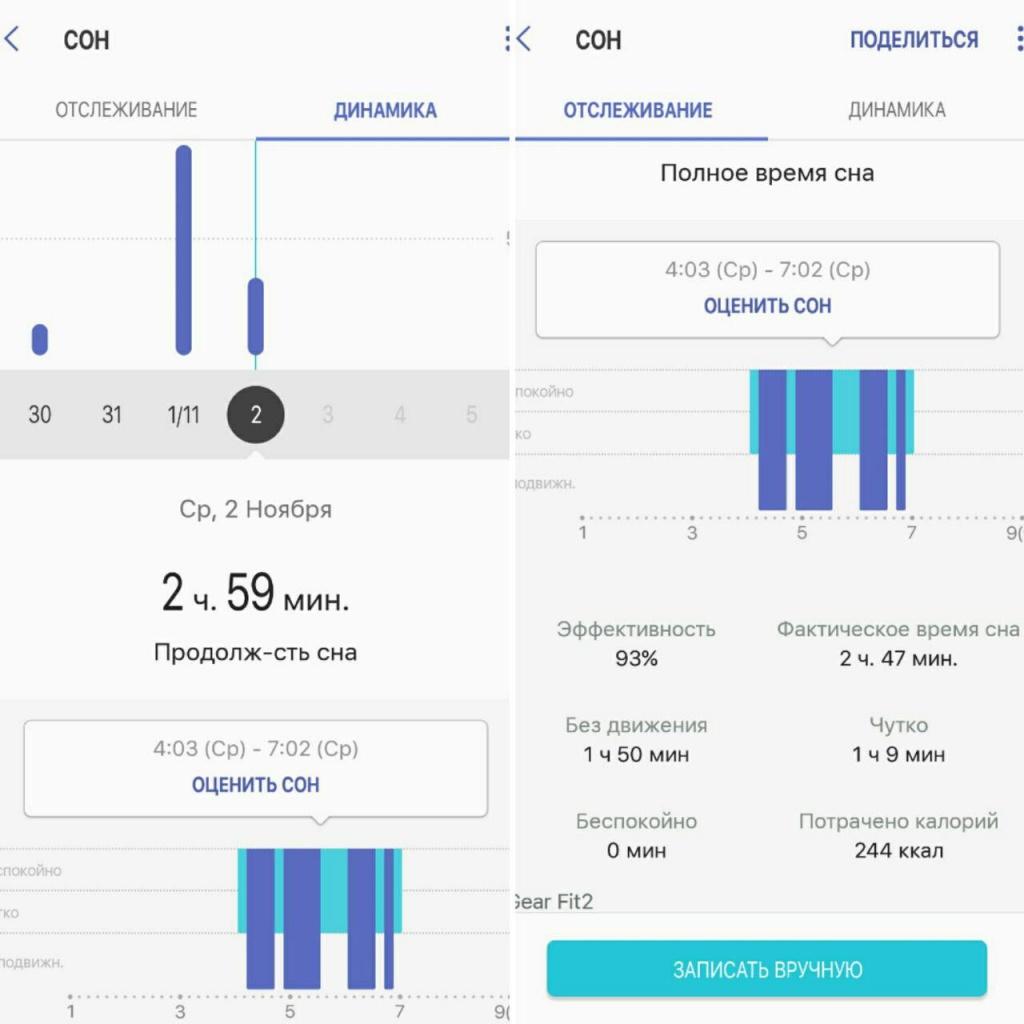 программа для мониторинга сна для гир2