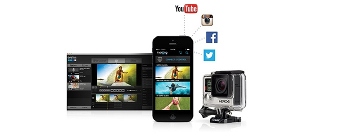 Видеокамера цифровая экшн GoPro Hero 4 Black Edition - Adventure (CHDHX-401)