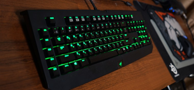 Клава Razer Blackwidow Ultimate Stealth 2014