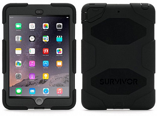 Купить Чехол Griffin Survivor All-Terrain для iPad 9.7 2017 (Black)