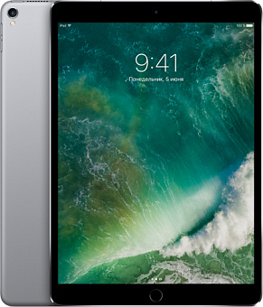 Планшет Apple iPad Pro 10.5 Wi-Fi 256GB MPDY2RU/A (Space Grey)