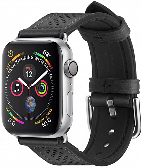 Ремешок Spigen Retro Fit (061MP27003) для Apple Watch Series SE/6/2/3/4/5 38/40 mm (Black)