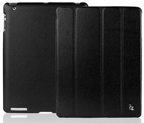 Купить Jison Smart Leather Case - чехол для iPad 2/iPad 3/iPad 4 (Black)