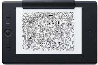 Графический планшет Wacom Intuos Pro Paper Medium PTH-660P-R (Black)