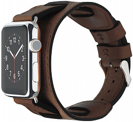 Купить Cozistyle Wide Leather Band (CWLB12) - сменный ремешок для Apple Watch 42mm (Brown)