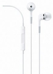 Купить Apple In-Ear Headphones with Remote and Mic (ME186ZM/A)  - наушники для iPhone