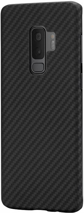 detailed look c8bd7 901a1 Чехол Pitaka MagCase для Samsung Galaxy S9 Plus (Black)
