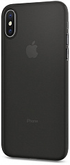 Купить Чехол Spigen Air Skin 057CS22114 для iPhone X (Black)