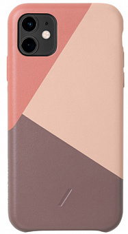 Чехол Native Union Clic Marquetry (CMARQ-ROS-NP19M) для iPhone 11 (Rose)
