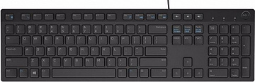 Купить Dell KB216 (580-ADGR) - USB клавиатура (Black)