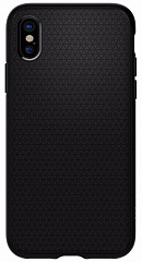 Купить Чехол Spigen Liquid Air (057CS22123) для iPhone X (Matte Black)