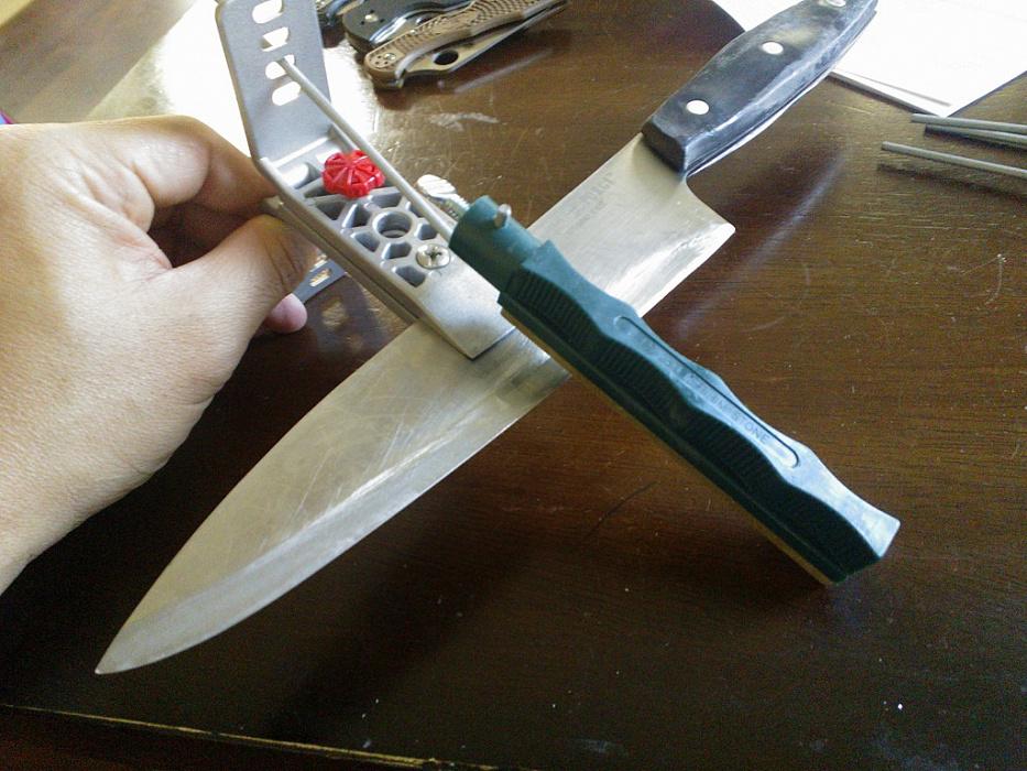 Заточить охотничий нож своими руками 33
