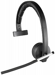 Купить Беспроводная DECT гарнитура Logitech Wireless Headset Mono H820e (Black)