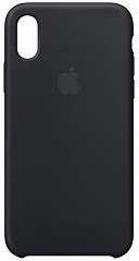 Купить Чехол Apple Silicone Case для iPhone X MQT12ZM/A (Black)