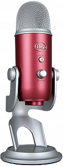 Конденсаторный микрофон Blue Microphones Yeti Podcaster (Steel Red)