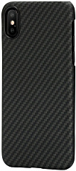 Купить Чехол Pitaka Aramid Case для iPhone X (Black)