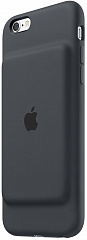 Купить Apple Smart Battery Case (MGQL2ZM/A) - чехол-аккумулятор для Apple iPhone 6s (Charcoal Grey)