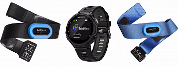 Купить Спортивные часы Garmin Forerunner 735XT Tri-Bundle 010-01614-09 (Grey/Black)